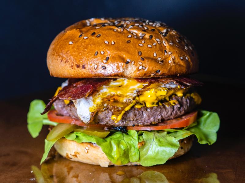 Perfect Bacon Cheese Burger