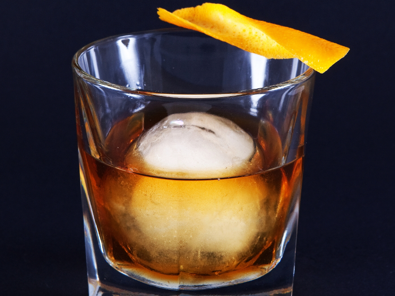 Traditional Old Fashioned Cocktail